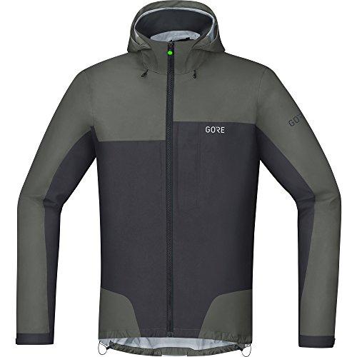 GORE Wear Wasserdichte Herren Fahrrad-Jacke, C5 GORE-TEX Active Trail Hooded Jacket, M, Gr Preisvergleich