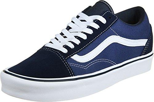 vans-old-skool-lite-plus-scarpe-da-ginnastica-basse-unisex-adulto-blu-suede-canvas-navy-white-37-eu