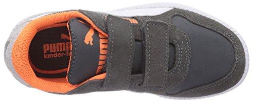 Puma Icra Trainer N/S Shades V Unisex-Kinder Sneakers Grau (dark shadow-gray violet-white 02)