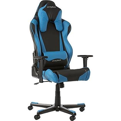 DX Racer Oh/RB1–Silla Azul Negro/Azul