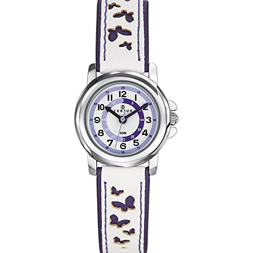 Certus - 647589 - unisex analogue quartz watch - white dial - two-tone plastic strap