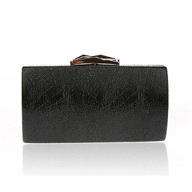 pwne L. In West Frau'S Abendessen Prägnant Airbag Satz Schnecke Und Veranstaltungsräume Tasche Fashion Handtasche Black