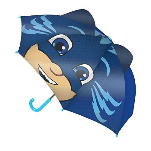 Paraguas Infantil PJ Masks Pop-up, Manual 42 cm. (Gatuno)
