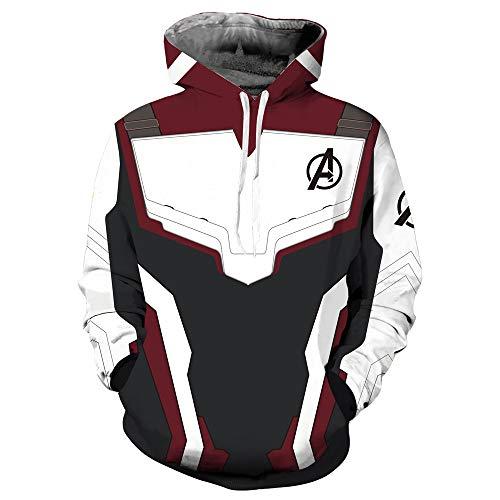 Top WHY Superheld Pullover Reißverschluss Quantum Hoodie Jacke Sweatshirts Cosplay ()