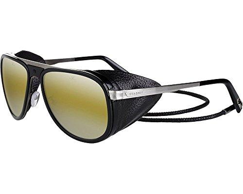 Vuarnet sunglasses VL 1315 0001 Metal Black - Gun Brown with Mirror effect ee0f5ab80e06