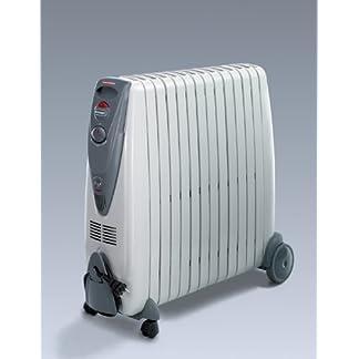 DeLonghi KG010715R – Radiador de aceite, 1500 W, color gris