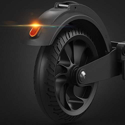 GoZheec E Scooter KUGOO S1 350W, 30km, 30 Km/h, LCD E-Roller Jugendliche und Erwachsene konkurrieren mit M365 (Schwarz) - 8