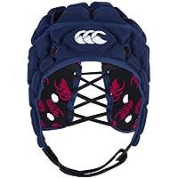 Canterbury Vapodri Raze Flex Chaleco–Casco Protector de Rugby, Unisex, Color Azul Marino, tamaño L