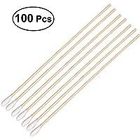 ROSENICE 100 Stück  Wattestäbchen mit langen Holzgriffen  Wattestäbchen-Applikator preisvergleich bei billige-tabletten.eu