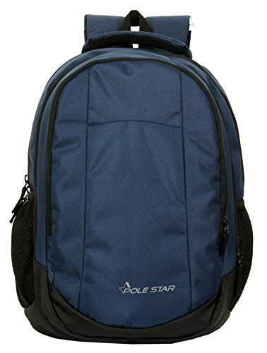 "POLESTAR""Noble Blue 32 Ltrs Casual bagpack/School Bag/Laptop Backpack Image 5"
