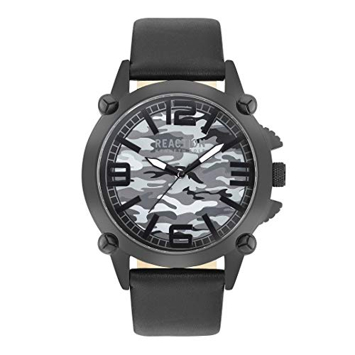 Kenneth Cole Reaction RK50547001 - Reloj de Cuarzo para Hombre, Color Negro