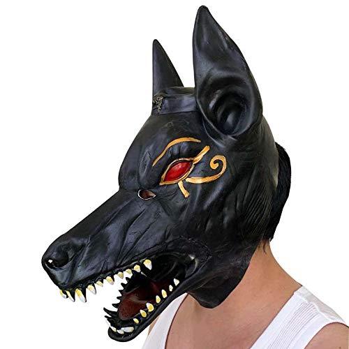 - Anubis Halloween Maske