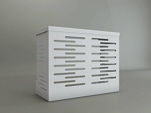 Klimaanlagenabdeckung für Außeneinheit L 900 x H 700 x P 450 aus Aluminiumverbundswerkstoff