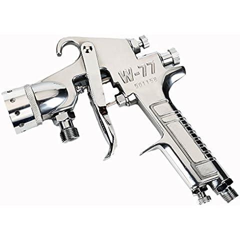valianto w-77boquilla color disponible presión alimentación pistola, plateado