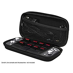 iMW Transport-Case für Nintendo Switch Lite, Schwarz