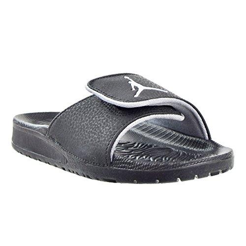 separation shoes 180db 3fc87 NIKE KIDS JORDAN HYDRO 6 BP SANDAL BLACK WOLF GREY SIZE 13 ...