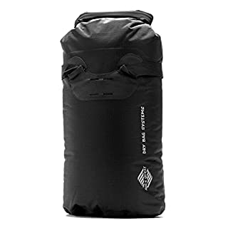 Aqua Quest TOTE Backpack - 100% Waterproof Day Pack 20L Dry Bag Ultra Light and Durable for Sports, Travel, School - Black