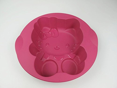 TUPPERWARE Backen Silikonform Hello Kitty pink Silikon Form Kinder Easyplus (Snacks Hello Kitty)