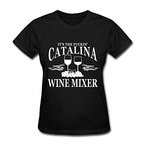 Women's It's The Fuckin' Catalina Wine Mixer T-shirtYILIAX11638Small