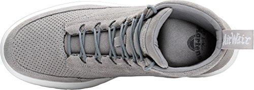 Dr. Martens Mens Kamar Combat Boot Grau (Mid Grey)
