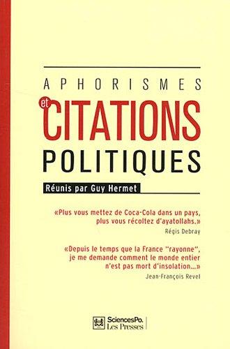 Aphorismes et citations politiques