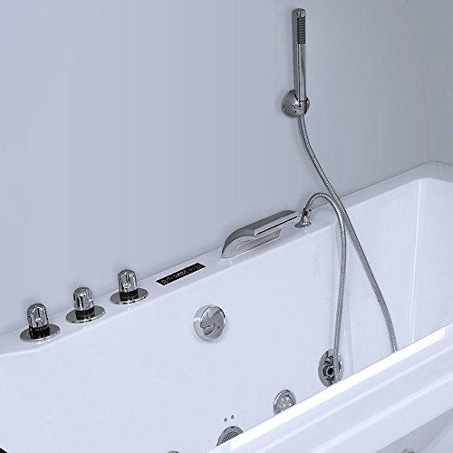 Home Deluxe Whirlpool Laguna M, inkl. vielen Extras (weiß) - 6