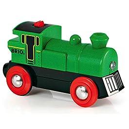 Brio Speedy Green Locomotiva a batterie