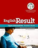 [(English Result Upper-intermediate: Student's Book with DVD Pack: General English Four-skills Course for Adults)] [Author: Mark Hancock] published on (November, 2010)