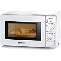 Severin M W7891 Micro onde avec Grill/fonction d'air chaud 700 W 20 L Blanc