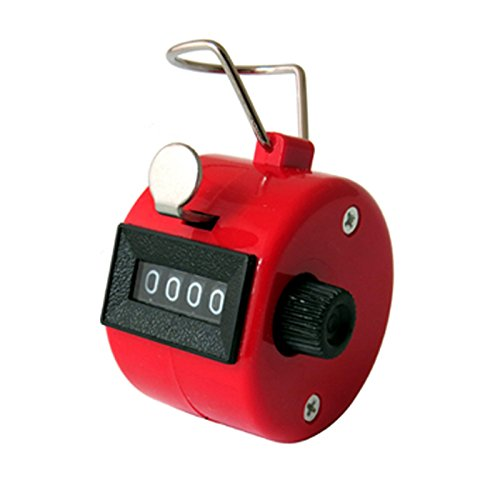 lupor-4-digit-hand-held-golf-number-tally-manual-counter-clicker-scorer-red