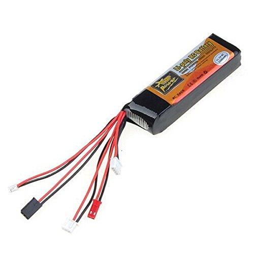 Bluelover ZOP alimentazione 11.1V 2200mAh 8C Lipo Batteria Per Devo JR WFLY trasmettitore