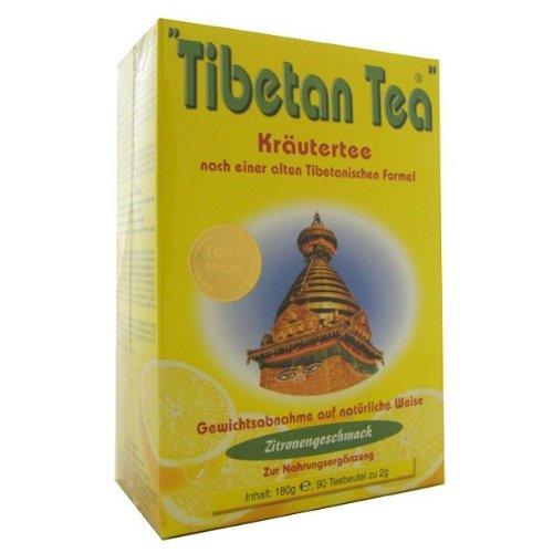 Tibetan Tea Infusión de Hierbas Limón - 90 bolsitas