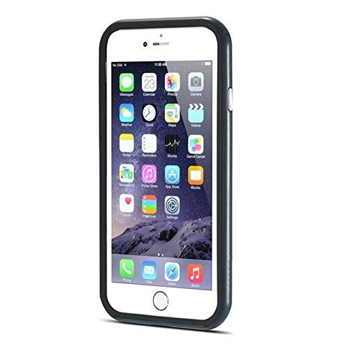 Phone case & Hülle Für iPhone 6 Plus & 6S Plus, Bumblebee Silm Hybrid PC Rahmen & TPU Schutzhülle ( Color : Red ) Dark Blue