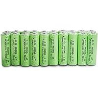 PPOWER 20 confezioni da luce solare AA Ni-Cd 600 mAh Batterie ricaricabili
