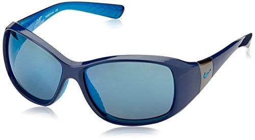 Nike Minx Sonnenbrille, Herren Damen, Deep Royal Blue/Neo Turquoise