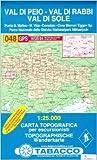 Tabacco - Val di Peio - Val di Rabbi - Val di Sole 048 WK. Topografische Karte