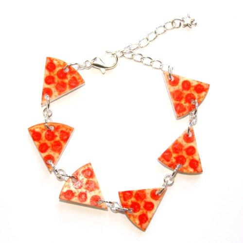 Sour Cherry Pizza Bracelet