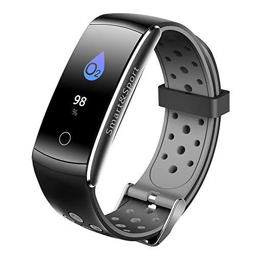 Altsommer Fitness Bluetooth 0,96' LCD, IP68 Wasserdichtes, Trinkerinnerung,Blutdruck-...