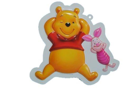 Unbekannt XL - 3-D Winnie The Pooh Wand Bild Bär Teddy Tigger Ferkel Esel Eeyore Puuh