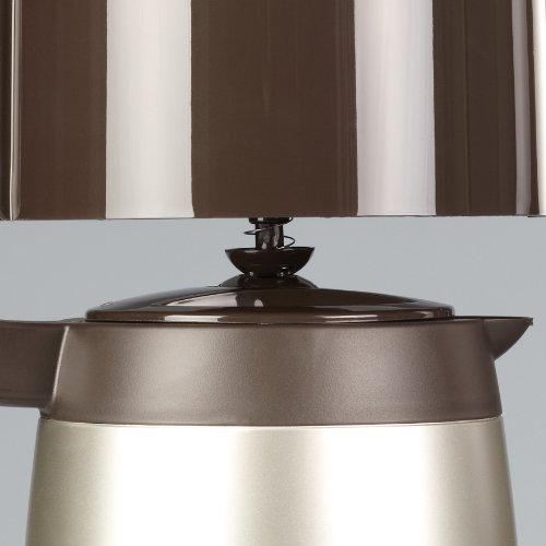 Severin Caffettiera automatica KA 4155 1000W, colore marrone titanio