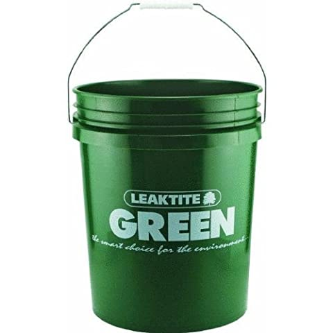 5 Gallon Green Pail by Leaktite