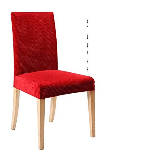 Sishe Stuhl Silpcover Haushaltsstuhlabdeckung Computerabdeckungen für Büro elastische Bespannungen für Hochzeitsbankett für Stuhlabdeckungen-K by (Farbe : N)