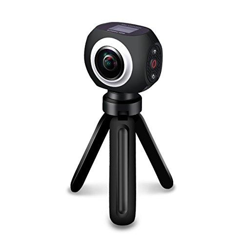 Poweradd 360 Grad Panorama Kamera mit Halterung für iPhone 7/7 Plus / 6s / 6s...