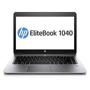 "HP EliteBook Folio 1040 G1 - 14"" - Core i7 4600U - Mise à niveau inférieure Windows 7 Pro 64 bits / Windows 8.1 Pro - 8 Go RAM - 256 Go SSD"