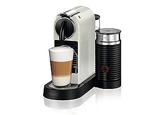 Delonghi EN 267. WAE Pod Coffee Machine 1L White–Coffee (Freestanding, Drip Coffee Maker, Coffee Capsule, White, Plastic, Buttons)