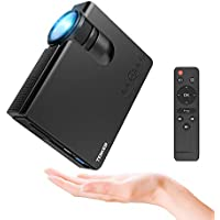 "Tenker Mini Beamer 2200 Lumens Full HD 1080P Video LCD Mini HD Projektor, 176"" Display, 50.000 Lebensdauer, 1080P/HDMI/VGA/USB/TV Box/Laptop/DVD Externe Lautsprecher unterstützt"