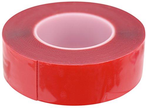 FiveSeasonStuff® Polyvalent Haute Résistance Acrylique Ruban adhésif double face pour réparation de téléphones mobiles, des véhicules automobiles, maison et jardin, industriel, bureau, atelier, garage. applications de surface pour le bois, le verre, le métal, les plastiques, les composites, foamex, les surfaces peintes (tailles disponibles de 3mm à 50mm et épaisseur 0.2mm ou 1mm) chaque bande est de 10mètres de long (50mm x 1mm)