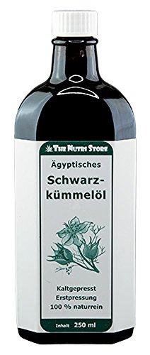 Preisvergleich Produktbild Schwarzkümmelöl 100 % Ägyptisch kaltgepresst 250 ml