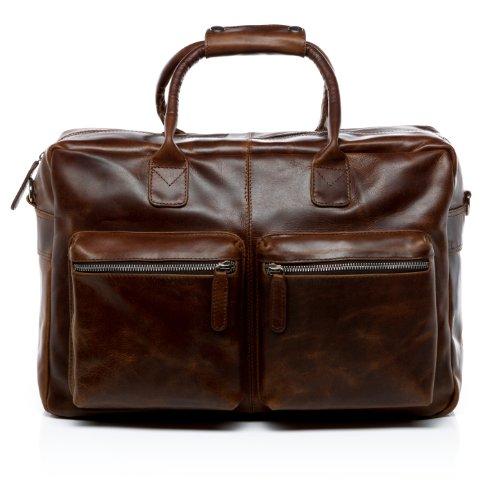 Original Laptoptasche BRIGHTON by SID & VAIN Wenn Sie Funktion gerne mit erlesenem Stil verbinden, ist diese Laptop Tasche unverzichtbar für Sie!Das hochwertige Leder kommt durch das stimmige Design besonders gut zur Geltung.Dank der gut durchdac...