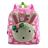 Cute Rabbit Kinder Rucksack Kleine Schultasche für Mädchen Buch Tasche